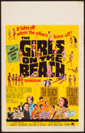 "Movie Posters:Rock and Roll, The Girls on the Beach (Paramount, 1965). Window Card (14"" X 22"").Rock and Roll.. ..."