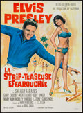 "Movie Posters:Elvis Presley, Girl Happy & Other Lot (MGM, 1965). French Affiche (22.5"" X31""), & Color Photo (8"" X 10""). Elvis Presley.. ... (Total: 2Items)"