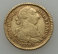 Colombia, Colombia: Charles IV gold 2 Escudos 1790 P-SF,...