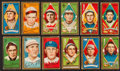 Baseball Cards:Lots, 1911 T205 Gold Border Tobacco Collection (12). ...