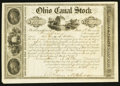 Obsoletes By State:Ohio, Columbus, OH- The State of Ohio, Ohio Canal Fund $100 Apr. 20,1842. ...