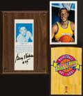 Basketball Collectibles:Others, Basketball Greats Signed Cards Lot of 13....