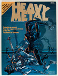 Magazines:Science-Fiction, Heavy Metal #1 (HM Communications, 1977) Condition: NM....