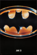 "Movie Posters:Action, Batman (Warner Brothers, 1989). One Sheet (27"" X 40.5"") Advance.Action.. ..."