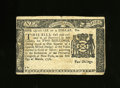 Colonial Notes:New York, New York March 5, 1776 $1/4 About New. A center fold with anapproximate quarter inch split at top is noticed. This elusive ...
