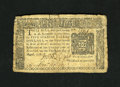 Colonial Notes:New York, New York August 13, 1776 $5 Very Fine. This note boasts bolddetails though there are some edge splits....