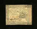 Colonial Notes:Pennsylvania, Pennsylvania October 1, 1773 5s About New. Just a center fold onthis note....