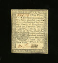 Colonial Notes:Pennsylvania, Pennsylvania April 10, 1777 3d About New. This is a bright notethat shows a partial fingerprint over the signature....
