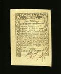 Colonial Notes:Rhode Island, Rhode Island May 1786 5s About New. A center fold and a little more handling are noticed....