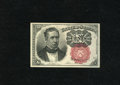 Fractional Currency:Fifth Issue, Fr. 1266 10c Fifth Issue Gem New. This is a superlative short keyMeredith note that has bold and rich ink colors and a very...