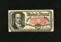 Fractional Currency:Fifth Issue, Fr. 1381 50c Fifth Issue About New. Light handling is noticed onthis otherwise crisp and fresh Crawford note....