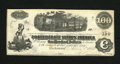 Confederate Notes:1862 Issues, T39 $100 1862. Just a little bit of handling on this note that haspencil writing on the back. This note is dated January 8,...