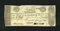 Obsoletes By State:Ohio, Marietta, OH- Bank of Marietta $3 Jan. 4, 1840 C34 Wolka 1559-23.Ink erosion in the signatures is found on this scarce coun...