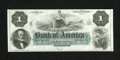 Obsoletes By State:Rhode Island, Providence, RI- Bank of America $1 18__. Plate letter C is on this note. The original sheets for this denomination consisted...