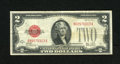 Small Size:Legal Tender Notes, Fr. 1503 $2 1928B Legal Tender Note. Fine-Very Fine.. This key to the regular series Red Seal Twos has much body left and a ...