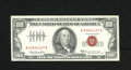 Small Size:Legal Tender Notes, Fr. 1551 $100 1966A Legal Tender Note. Extremely Fine.. Hard to detect folds are found on this $100 Red Seal from the much b...