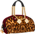 Luxury Accessories:Bags, Christian Dior Leopard Print Ponyhair Gambler Bag . ...