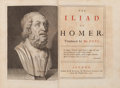 Books:Literature Pre-1900, [Alexander Pope, translator]. Homer. The Iliad of Homer,Translated by Mr. Pope. London: Printed by W. Bowyer fo...(Total: 6 Items)