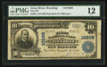 National Bank Notes:Wyoming, Green River, WY - $10 1902 Plain Back Fr. 631 First NB Ch. # 10698. ...