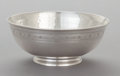 Silver Holloware, American:Bowls, AN ARTHUR STONE SILVER FOOTED BOWL. Arthur Stone, Gardner,Massachusetts, circa 1925. Marks: (hammer) Stone, STERLING,C...
