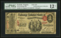 National Bank Notes:Virginia, Norfolk, VA - $1 Original Fr. 380 The Exchange NB Ch. # 1137. ...