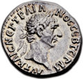 Ancients:Roman Provincial , Ancients: LYCIAN LEAGUE. Trajan (AD 98-117). AR drachm (17mm, 3.07gm, 6h)....