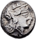 Ancients:Judaea, Ancients: JUDAEA or PHOENICIA. Imitating Athens. Ca. 4th-3rdcenturies BC. AR drachm (15mm, 4.20 gm, 10h). ...