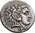 Ancients:Greek, Ancients: MACEDONIAN KINGDOM. Alexander III the Great (336-323 BC).AR tetradrachm (26mm, 17.17 gm, 11h)....