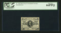 Fractional Currency:Third Issue, Fr. 1238 5¢ Third Issue PCGS Gem New 66PPQ.. ...