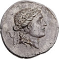 Ancients:Greek, Ancients: CARIA. Alabanda. Ca. 167/6 BC. AR tetradrachm (35mm,16.89 gm, 12h). ...
