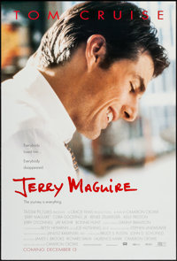 "Jerry Maguire & Other Lot (Tri-Star, 1996). One Sheets (2) (27"" X 40"", 27"" X 41""). Drama..."