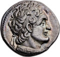 Ancients:Greek, Ancients: PTOLEMAIC EGYPT. Ptolemy VI Philometor (180-145 BC). ARtetradrachm (27mm, 13.68 gm, 12h)....