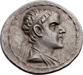 Ancients:Greek, Ancients: GRECO-BACTRIAN KINGDOM. Eucratides I the Great (ca.170-145 BC). AR tetradrachm (35mm, 16.88 gm, 1h). ...