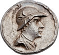 Ancients:Greek, Ancients: GRECO-BACTRIAN KINGDOM. Eucratides I the Great (ca.170-145 BC). AR tetradrachm (32mm, 17.03 gm, 12h). ...
