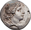 Ancients:Greek, Ancients: IONIA. Magnesia ad Meandrum. Ca. 155-145 BC. ARtetradrachm (31mm, 16.96 gm, 12h). ...