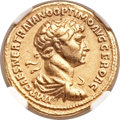 Ancients:Roman Imperial, Ancients: Trajan (AD 98-117). AV aureus (19mm, 7.19 gm, 7h)....