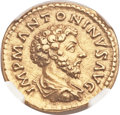 Ancients:Roman Imperial, Ancients: Marcus Aurelius (AD 161-180). AV aureus (19mm, 7.23 gm,6h)....