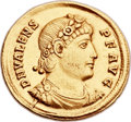 Ancients:Roman Imperial, Ancients: Valens (AD 364-378). AV solidus (21mm, 4.44 gm,6h). ...