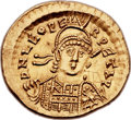 Ancients:Roman Imperial, Ancients: Leo I the Great, Eastern Roman Emperor (AD 457-474). AV solidus (22mm, 4.45 gm, 6h)....