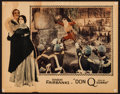 "Movie Posters:Swashbuckler, Don Q, Son of Zorro (United Artists, 1925). Lobby Card (11"" X 14""). Swashbuckler.. ..."