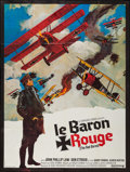 "Movie Posters:War, Von Richthofen and Brown (United Artists, 1972). French Grande(45.5"" X 61"") Alternate Title: The Red Baron. War.. ..."