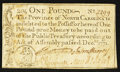 Colonial Notes:North Carolina, North Carolina December, 1771 £1 About New.. ...