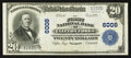 National Bank Notes:Virginia, Clifton Forge, VA - $20 1902 Plain Back Fr. 660 The First NB Ch. #6008. ...
