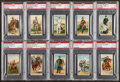 "Non-Sport Cards:Sets, 1909-13 T81 Recruit ""Military Series"" PSA Partial Set (23/50) - #3on the PSA Set Registry. ..."