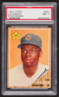 Baseball Cards:Singles (1960-1969), 1962 Topps Lou Brock #387 PSA NM 7....