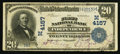 National Bank Notes:Missouri, Independence, MO - $20 1902 Date Back Fr. 645 The First NB Ch. #(M)4157. ...
