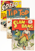 Golden Age (1938-1955):Miscellaneous, Comic Books - Assorted Golden and Silver Age Comics Group (Various Publishers, 1940s-'60s) Condition: Average GD/VG.... (Total: 6 Comic Books)