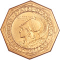 Commemorative Gold, 1915-S $50 Panama-Pacific 50 Dollar Octagonal MS67 NGC....