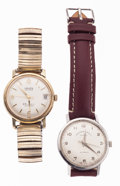 Timepieces:Wristwatch, Two Gent's Automatic Wristwatches Runners. ... (Total: 2 Items)