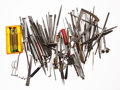 Timepieces:Other , A Lot Of Miscellaneous Watchmakers Tools. ...
